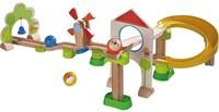 Haba houten knikkerbaan set Rollebollen Basisdoos Windmolenbaan-1