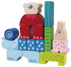 Haba  houten bouwblokken Zoolino maxi 2355