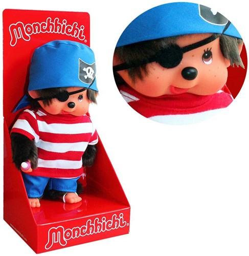 Monchhichi  knuffelpop Jongen Piraat - 20 cm-2
