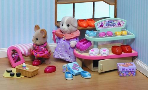 Sylvanian Families  gebouw Village Shoe Shop 2404-2