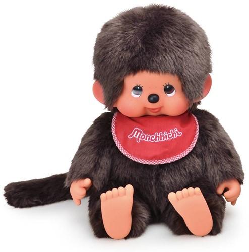 Monchhichi  knuffelpop Jongen Zittend - 45 cm-1