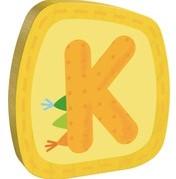 Haba  decoratie houten letter K