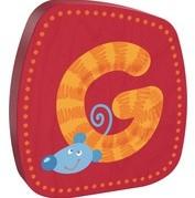 Haba  decoratie houten letter G