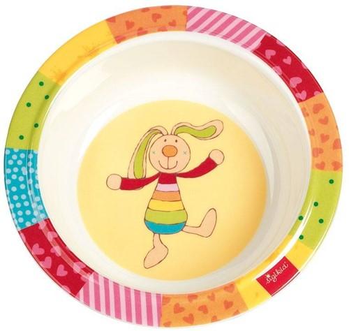sigikid Melamine schaaltje, Rainbow Rabbit