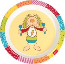 Sigikid  kinderservies Melamine bord Rainbow Rabbit