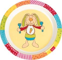 Sigikid  kinderservies Melamine bord Rainbow Rabbit