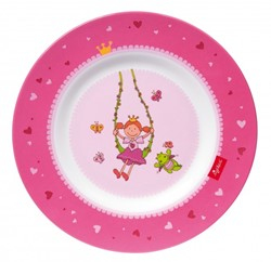 sigikid Melamine bord Pinky Queeny 24769