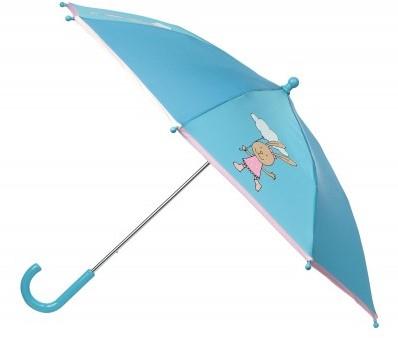 sigikid Paraplu haas blauw, TierOnTour