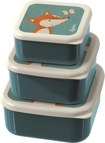 sigikid 3 snack boxes fox, The little ones 24985