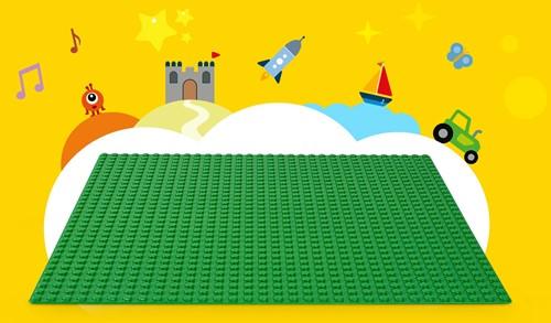LEGO Classic Groene bouwplaat 10700-3