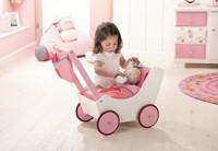 Haba  Lilli and friends poppen accessoires Poppenwagen met tas en zuigfles 2660-2