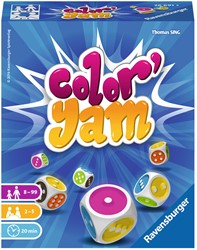 Ravensburger Color Yam - dobbelspel