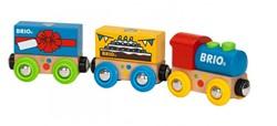 Brio  houten trein Verjaardagstrein 33818