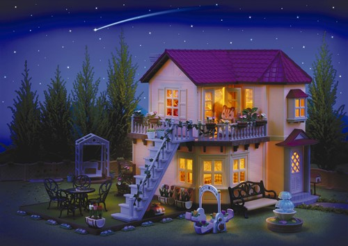 Sylvanian Families City House with Lights Gift Set 2746-3