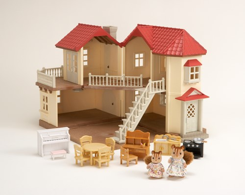 Sylvanian Families City House with Lights Gift Set 2746-2