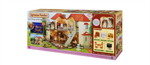 Sylvanian Families City House with Lights Gift Set 2746