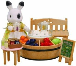 Sylvanian Families  gebouw Juice bar and Figure 2792