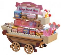 Sylvanian Families  accessoires Candy cart 2812