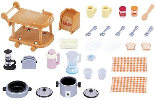 Sylvanian Families  accessoires Kitchen Cookware Set 2819