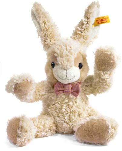 Steiff knuffel Happy Friend Manni rabbit, cream - 28cm