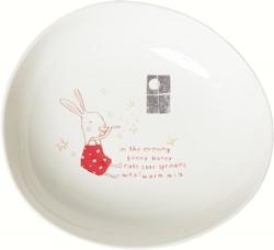 Maileg Bunny Honey Melamine bowl