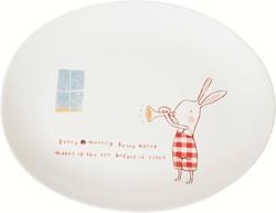 Maileg Bunny Honey Melamine plate
