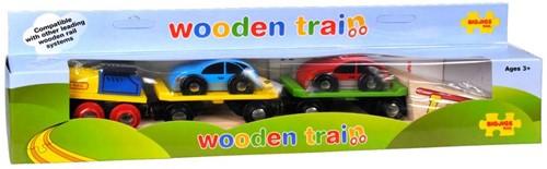 BigJigs houten trein accessoires Car Loader-2