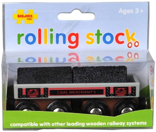 BigJigs Big Coal Wagon (4)