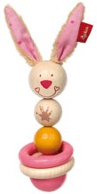 sigikid houten grijpspeeltje Bungee Bunny 75069