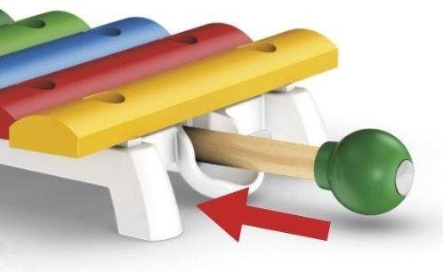 Brio  houten muziekinstrument Xylofoon 30182-3