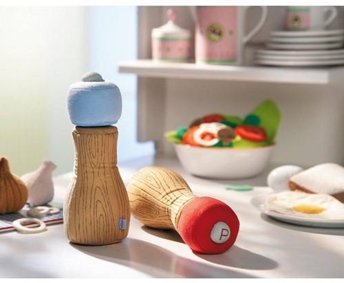 Haba  Biofino keuken accessoire Zout of pepermolen 300152-3