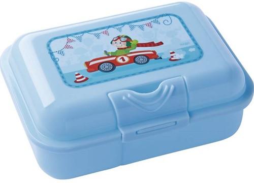Haba  kinderservies Broodtrommel Snelle sportwagens 300403-1
