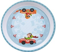Haba  kinderservies Bord Snelle sportwagens 300405-1