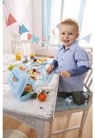 Haba  kinderservies Bord Snelle sportwagens 300405-2