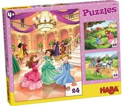 Haba  legpuzzel Prinses Mina  - 3 x 24 stukjes