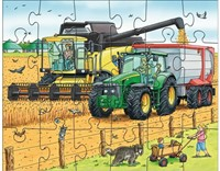 HABA Puzzels - Tractor & co.-3