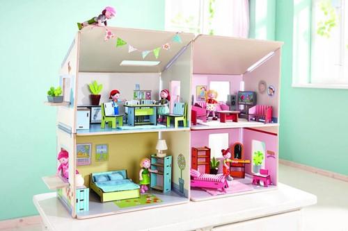 Haba  Little Friends houten poppenhuis Villa Zonneschijn-3