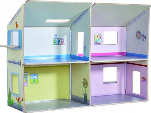 Haba  Little Friends houten poppenhuis Villa Zonneschijn-1