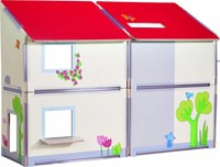 Haba  Little Friends houten poppenhuis Villa Zonneschijn-2