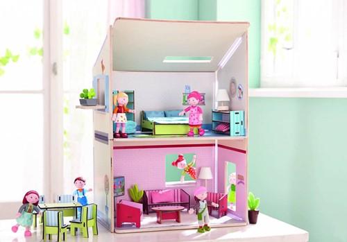 Haba  Little Friends houten poppenhuis Droomhuis-3