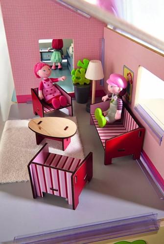 Haba  Little Friends houten poppenhuismeubels Woonkamer-3