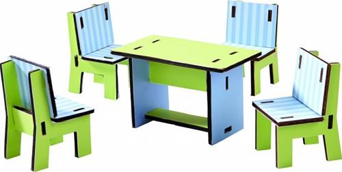 Haba  Little Friends houten poppenhuismeubels Villa Zonneschijn-2