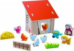 Haba  speelset Speelwereld Oma Lena's kippenboerderij 300522