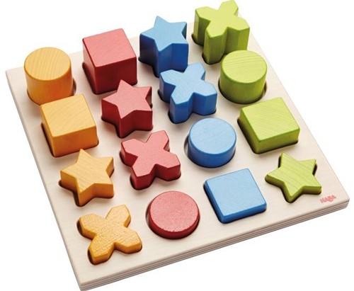 Haba leerspel Sorteerspel Vormenmix 300553-1