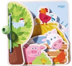 Haba  houten babyboek Boerderijvrienden 300556
