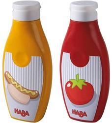 Haba  Biofino keuken accessoire Mosterd & ketchup 301031