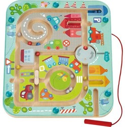 Haba kinderspel Magneetspel Stadslabyrint 301056