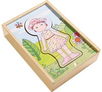 Haba  houten vormenpuzzel Lilli