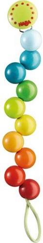 Haba  speenketting Regenboogparels 301114-1