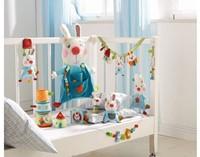 Haba  box en maxi cosi speelgoed Wagenspanner Haas Flips vrienden 301303-3